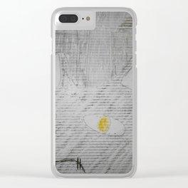 Graffiti Fat Cat 4 Clear iPhone Case