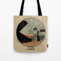 Sea monsters eat all travelers Tote Bag