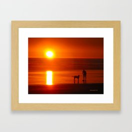 Kalaloch Sunset Framed Art Print