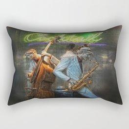 fifties cocktail jazz Rectangular Pillow