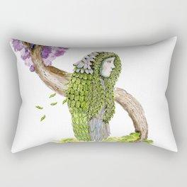 Ela. Trees Rectangular Pillow