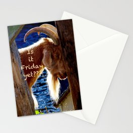 Is it Friday yet??? Stationery Cards