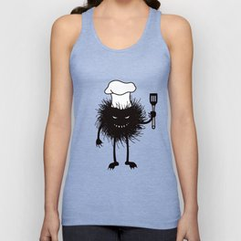 Evil Bug Chef Loves To Cook Unisex Tank Top