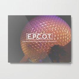 EPCOT Metal Print