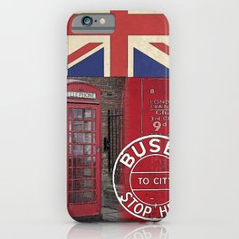 Great Britain London Union Jack England iPhone Case