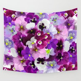 FLORAL GARDEN 9 Wall Tapestry