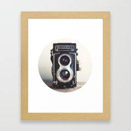 ROLLEIFLEX CAMERA Framed Art Print