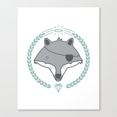 Mr. Wolf Canvas Print