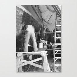 Shipyard Boat III Canvas Print