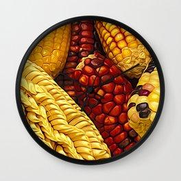 Amazing Maize Wall Clock