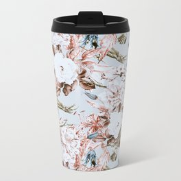 Wild botanical garden I Metal Travel Mug
