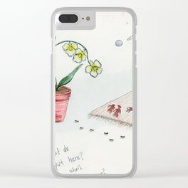Universal Truths Clear iPhone Case