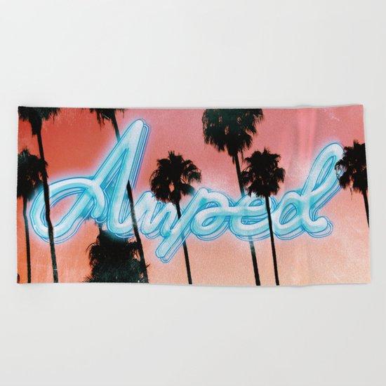 Amped Beach Towel