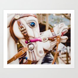 Carnival in Montmartre, Paris Photograph Art Print