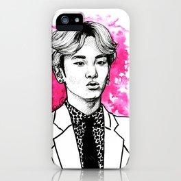 Pink SHINee Key Kibum iPhone Case