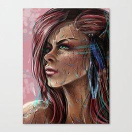 Willow's Determination Canvas Print