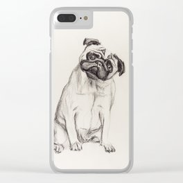 Pugg Clear iPhone Case