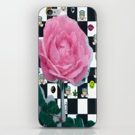 MY ROSE IS KAWAII iPhone Skin