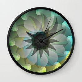 Spiral Shark Wall Clock
