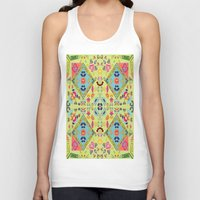 mirror Tank Tops featuring Mirror  by MinaSparklina