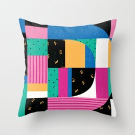 Letter D Throw Pillow
