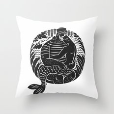 Sailor Daddy Throw Pillow