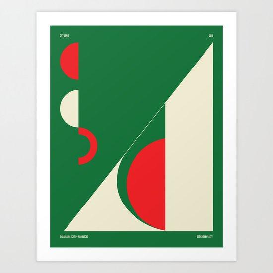 Casablanca — City Series Art Print