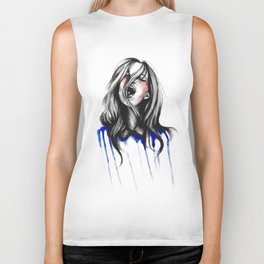 In Our Wildest Moments // Fashion Illustration Biker Tank