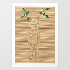 earth keeper Art Print