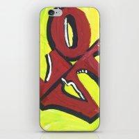 Neon LOVE iPhone & iPod Skin