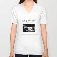 joy division V-neck T-shirts featuring Joy Division - Closer by NICEALB