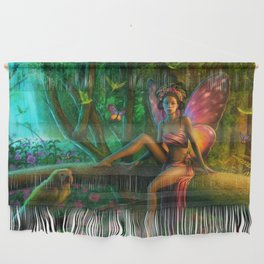 Exotic Butterfly Wall Hanging