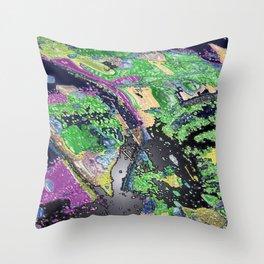 Brine Noir Throw Pillow