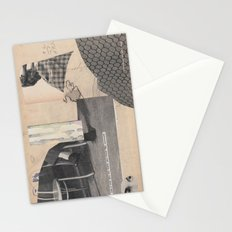 the face that replaces darkness Stationery Cards