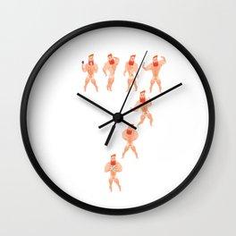 Seven Deadly Sins Wall Clock