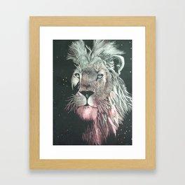 Mistic Lion Framed Art Print