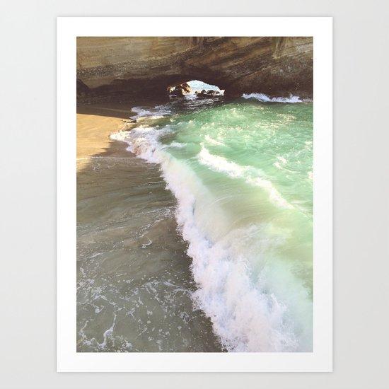 Secret Shores Art Print