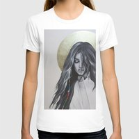 bohemian T-shirts featuring Bohemian Angel by Iva Mara