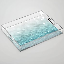 MERMAID GLITTER - MERMAIDIANS AQUA Acrylic Tray