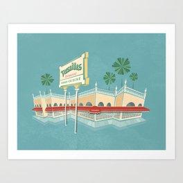 Little Havana - Versailles Cuban Restaurant Art Print