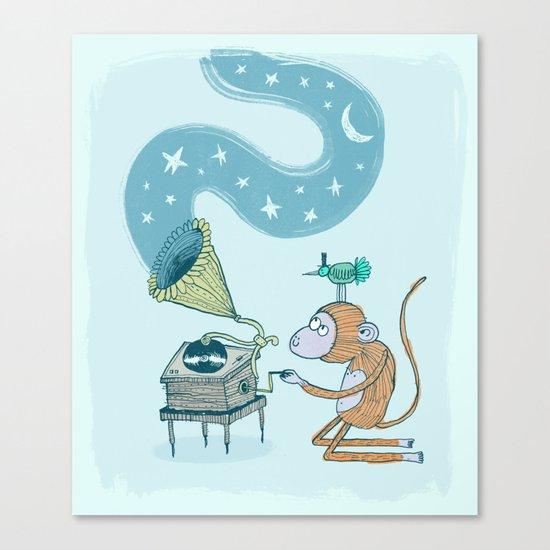 'Night Sounds' Canvas Print