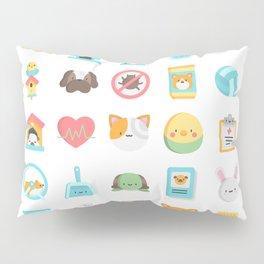 CUTE VET / VETERINARIAN PATTERN Pillow Sham