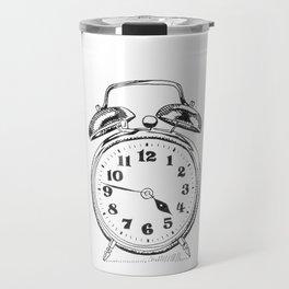 Retro Clock Travel Mug