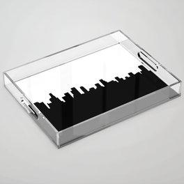 Los Angeles Shadow Acrylic Tray