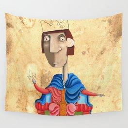 Ritratto di Federico II - L'Epoca di Federico II Wall Tapestry