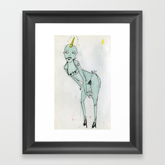 sexy ladies 1 Framed Art Print