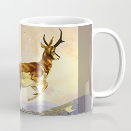 Pronghorn in the Morning Coffee Mug