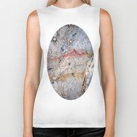 mineral Biker Tanks featuring Mineral Vein by LilyMichael Photography