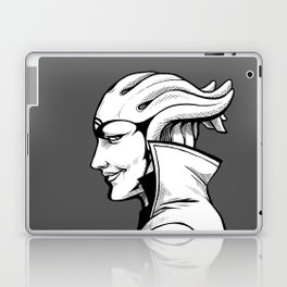Aria - B&W profile Laptop & iPad Skin