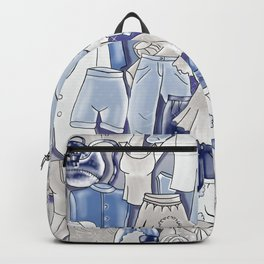 GREY CLOTHES Backpack